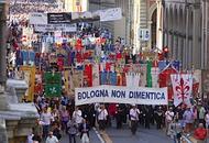 Il corteo a Bologna