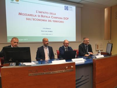 Mozzarella Bufala Campana Dop asset economico del Paese