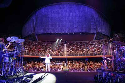 Con oltre 100mila spettatori chiude la stagione di 'Musica per Roma'