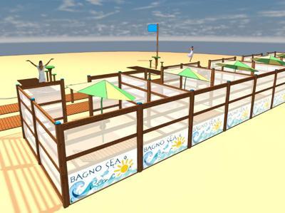 Spiagge sicure? dopo il plexiglass arriva la proposta in legno