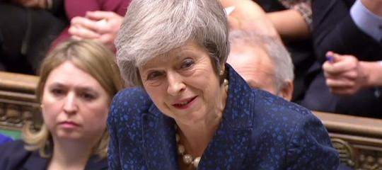 Evitare il nodealsulla Brexit e approvare accordo, dice TheresaMay ai Comuni