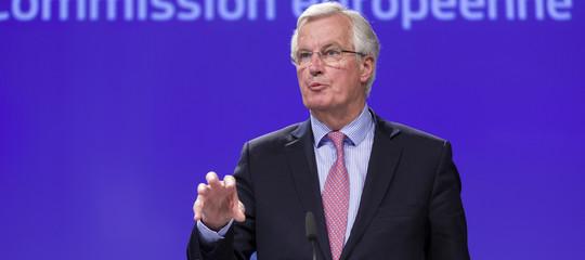 L'Ue è unita e l'accordo sullaBrexitnon cambia, diceBarnier