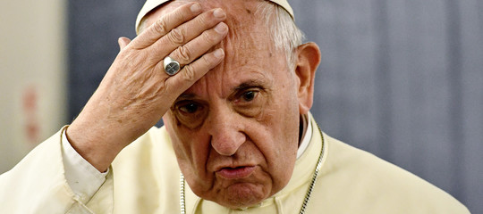 Papa Francesco contro il muro diTrump: la paura rende pazzi