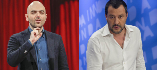 Savianodice che Salvini ora ha paura di essere processato