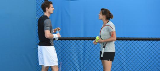 Uomini che allenano le donne (e viceversa): succede nel tennis aMelbourne
