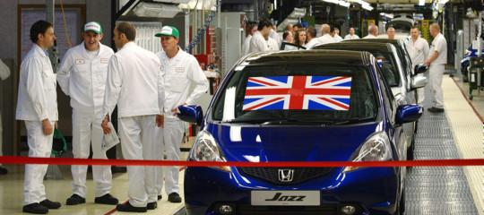 Per laBrexitHondachiuderà la sua fabbrica europea aSwindon