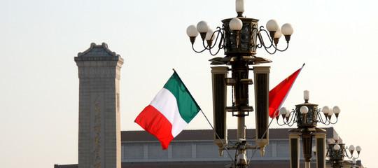 scambi italia cina commercio dati