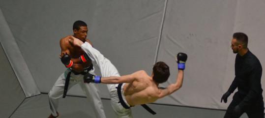 arti marziali combattimenti mmawrestling