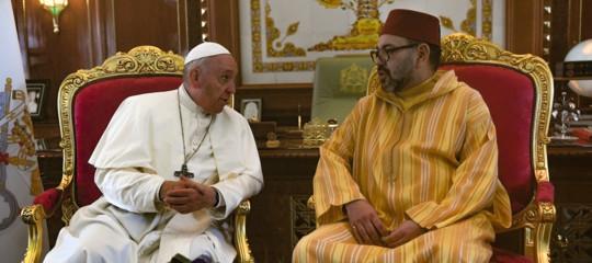 papa in marocco