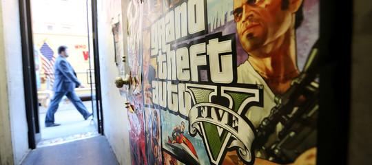 grabnd theft auto gta videogioco violenza baby gang