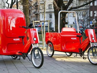 Design Week, i cargobike e la panchina intelligente di Repower