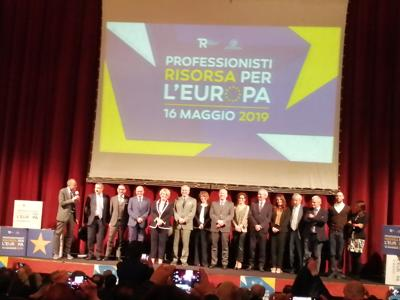 Cup-Rpt: Professionisti risorsa per Europa, rappresentare nostri valori