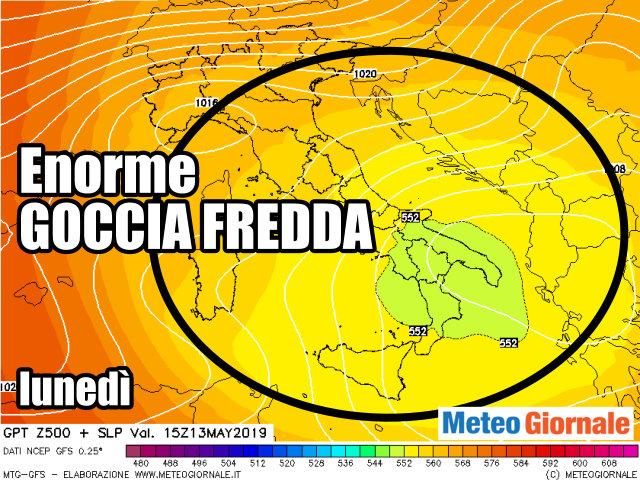 immagine 2 articolo previsioni meteo weekend peggioramento per tutta italia
