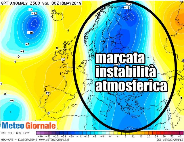 immagine 3 articolo tendenza meteo europa freddo e piovoso in molte aree