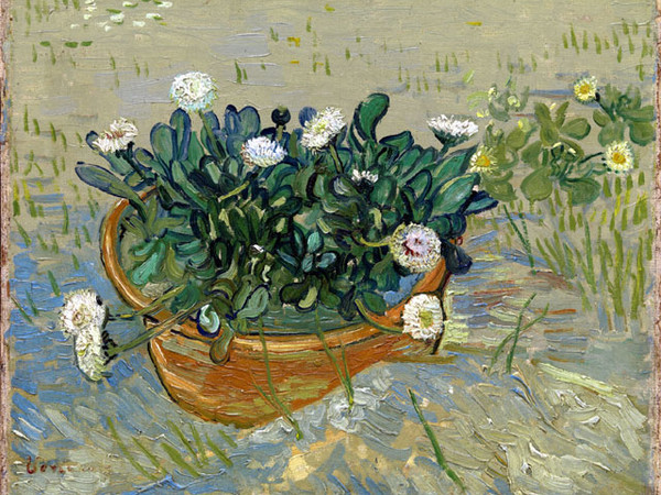 Vincent van Gogh, Margherite, Arles (Daisies, Arles), 1888. Olio su tela, 33x42 cm. Virginia Museum of Fine Arts, Collection of Mr. and Mrs. Paul Mellon, 2014.207