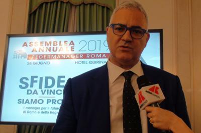Cuzzilla (Federmanager): Lazio torni a essere motore di sviluppo per il Paese