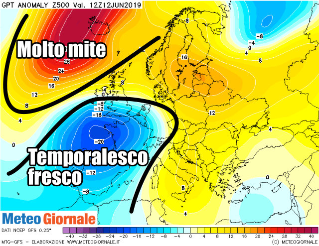 immagine 3 articolo meteo estremo in italia ed europa previsioni