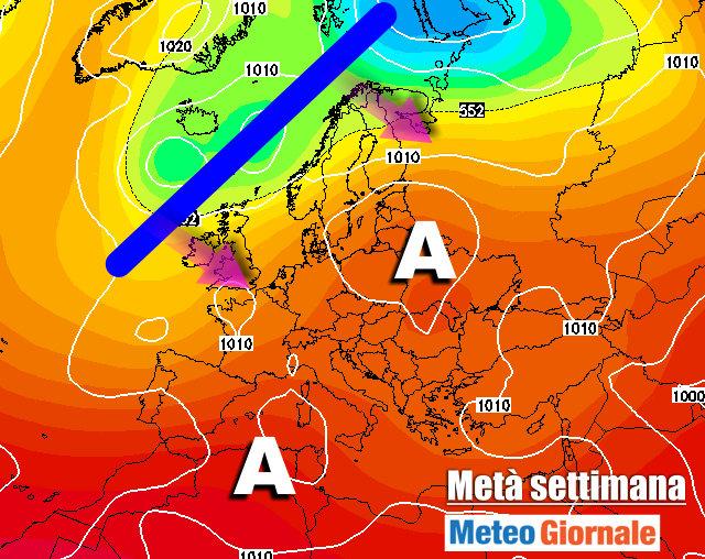 immagine 1 articolo meteo lungo termine cambiamento in europa