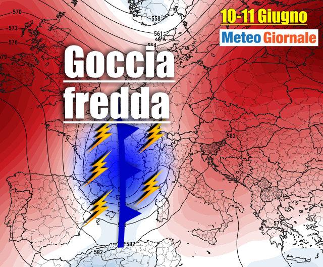immagine 1 articolo previsioni meteo italia europa scontri tra fenomeni estremi