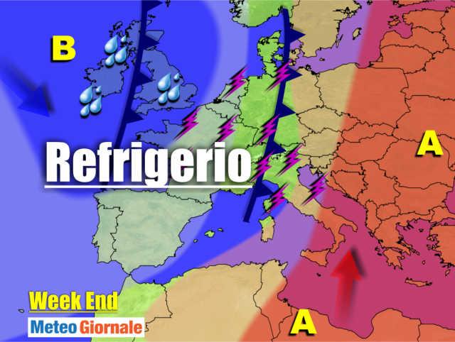 immagine 1 articolo meteo dal caldo africano seguono temporali