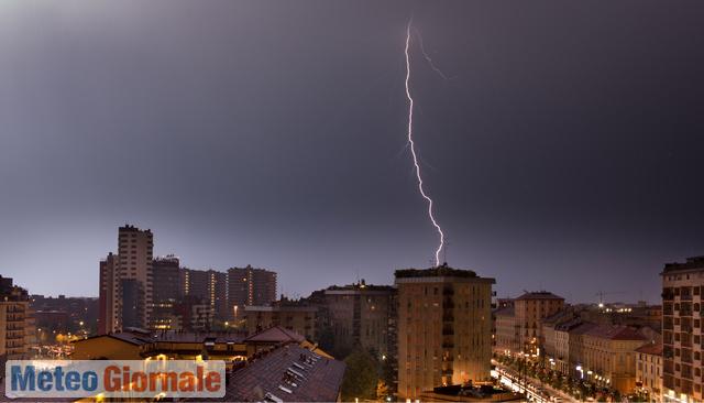 immagine 1 articolo meteo milano allerta gialla protezione civile per temporali prossime ore