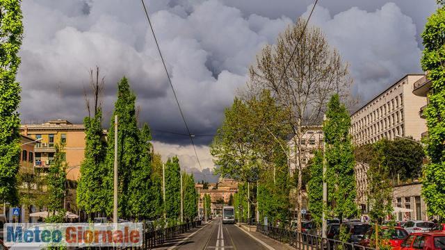 immagine 1 articolo meteo roma bel tempo domenica poi fase instabile con piogge e temporali