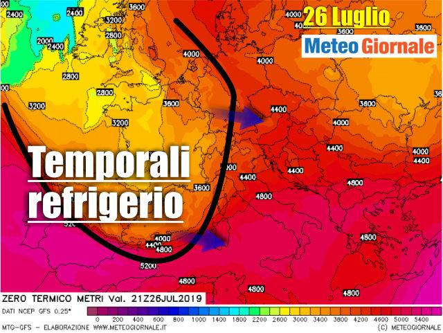 immagine 1 articolo previsioni meteo italia molto caldo ma potrebbe cambiare