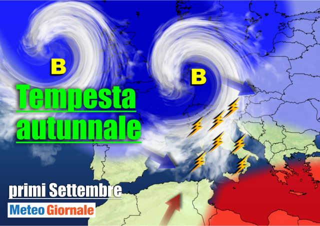 immagine 1 articolo meteo 15 giorni settembre ed e subito autunno