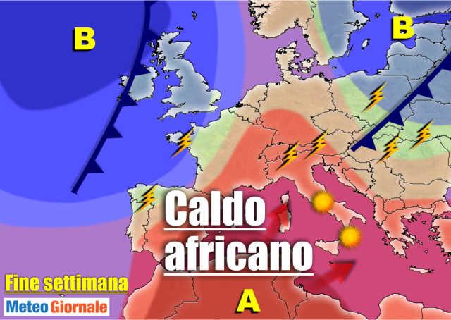 immagine 1 articolo meteo 7 giorni temporali anche forti al nord poi sole