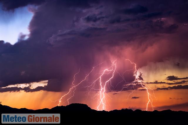 immagine 1 articolo meteo che cambia violenti temporali da lunedi al nord