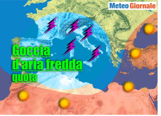 immagine 1 articolo meteo inizio settimana prossima instabile temporali ma caldo estivo