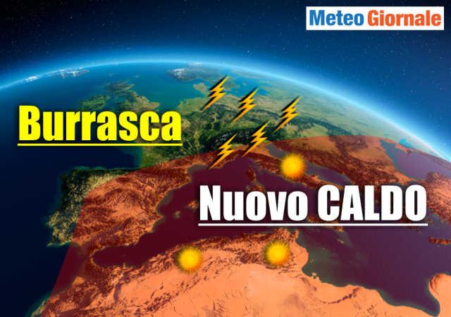 immagine 1 articolo meteo tra temporali e caldo africano estate