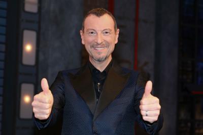 Sanremo, Amadeus conduttore e direttore artistico