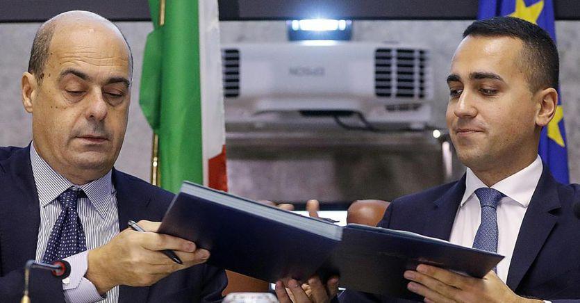 Giuseppe Conte presenta alla Camera il programma del nuovo Governo