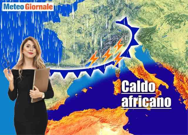 immagine 1 articolo meteo nord italia tante piogge soprattutto al nord ovest