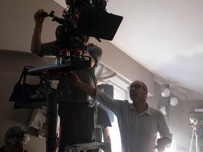 Ammanniti filma 'Anna' per Sky
