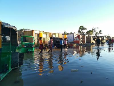 Le catastrofi naturali causano più migrazioni delle guerre