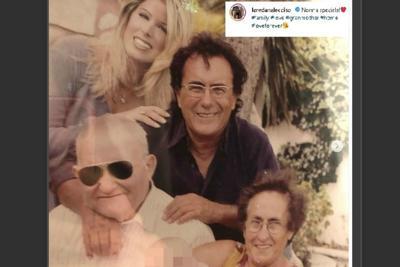 Nonna speciale!, Lecciso ricorda la mamma di Al Bano
