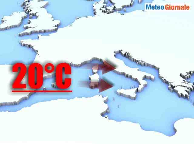 immagine 1 articolo meteo italia termometri impazziti verso oltre i 20 gradi