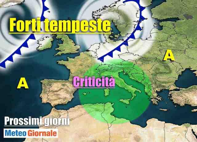 immagine 1 articolo meteo italia weekend e per la prossima settimana