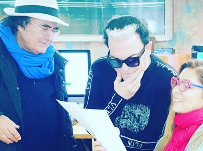 Malgioglio in studio con Al Bano e Romina. Ma su Sanremo decide Amadeus