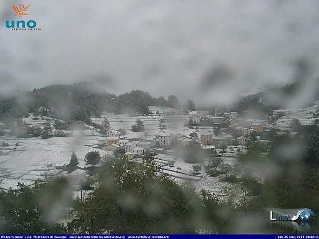 immagine 1 articolo meteo di fine maggio quando la neve arriva bassa quota