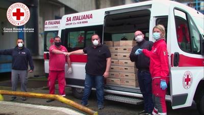 Eurovo con Croce Rossa, 30.700 uova alle famiglie romane