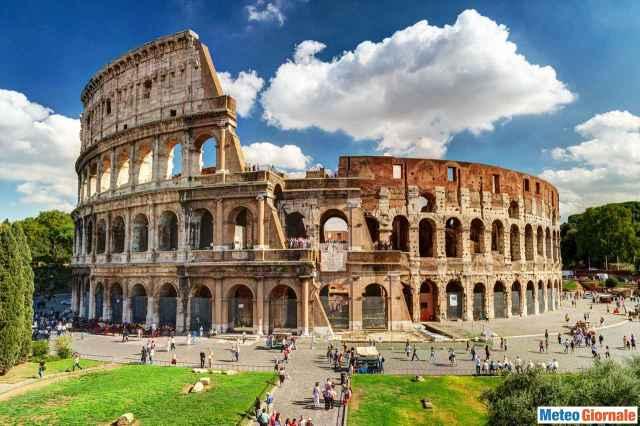 immagine 1 articolo meteo roma ritorno del bel tempo di nuovo scenario estivo