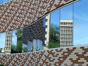 Reflections of Tucson; taken in downtown Tucson
