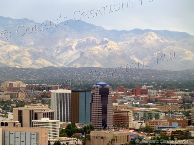 Downtown skyline in Tucson