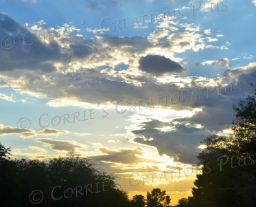 This sunset photo was taken on Tucson's southeast side.