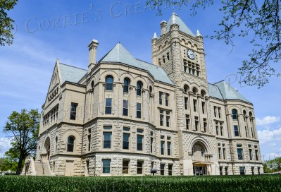 The Gage County Courthouse in Beatrice, Nebraska. Almanzo and Laura (Ingalls) Wilder rode through Beatrice and saw this beautiful building on their way to Missouri in the late 1800s.