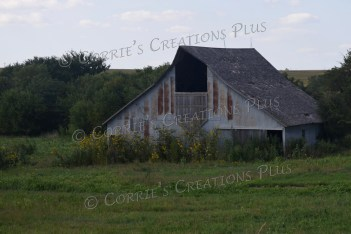 Old barn along Highway 136 in southeastern Nebraska