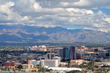 The Tucson skyline; taken from Sentinel Peak